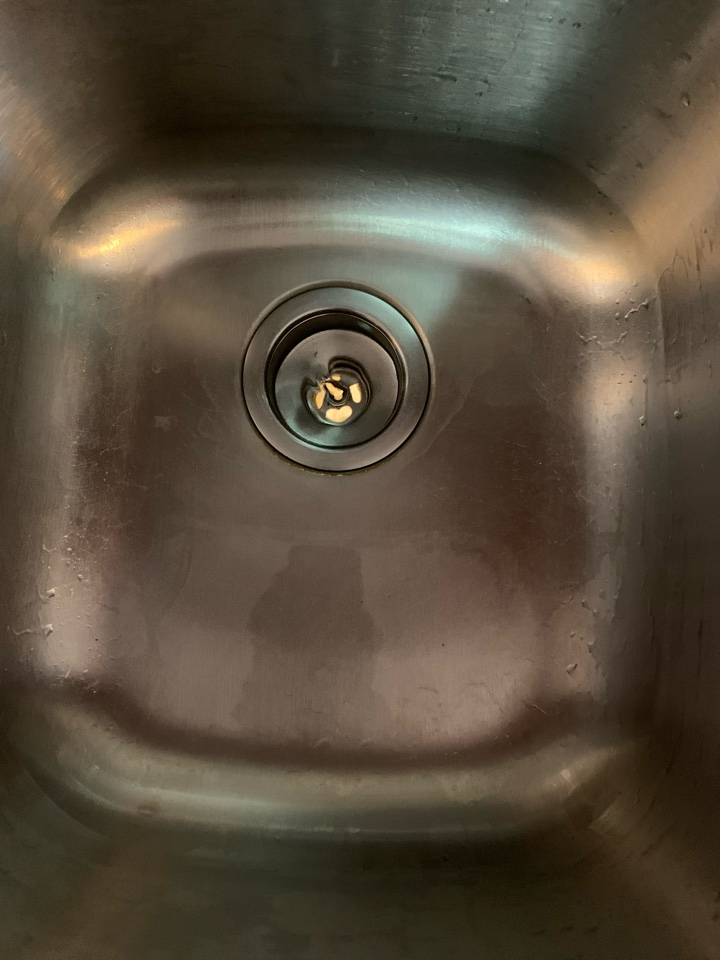 Kitchen drain cleaning