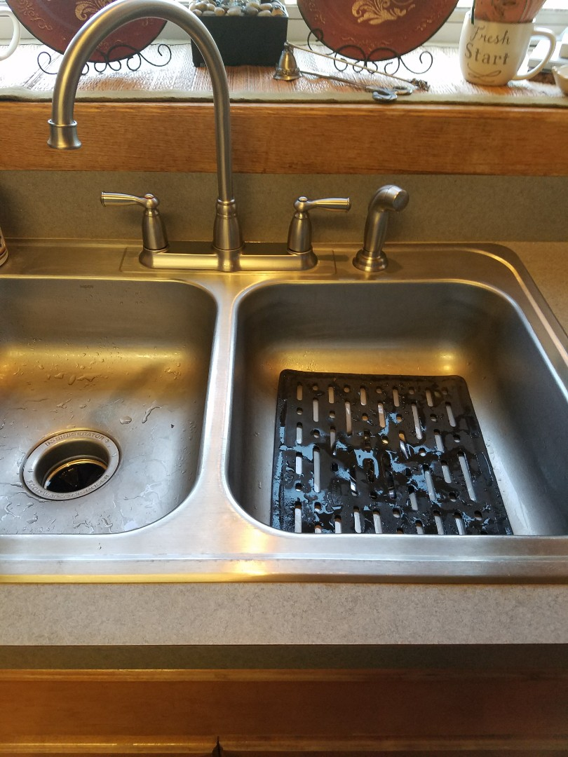 Kitchen cabinets in south elgin il - South Elgin Il Install New Brushed Nickel Faucet With High Spout