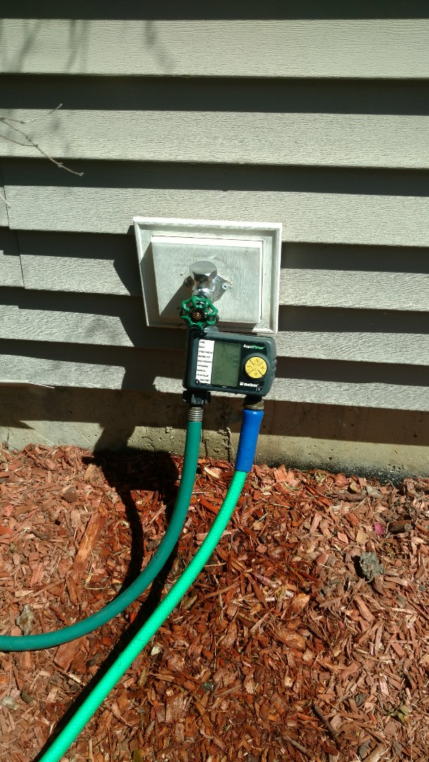 Streamwood, IL - Replaced old hose spigots due to leaks while in use.