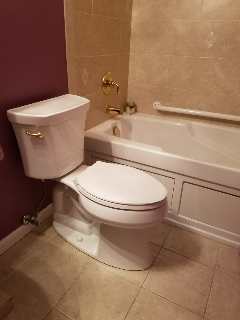 Glendale Heights, IL - Replaced toilets with nee ADA compliant toilets to accommodate the customers needs.
