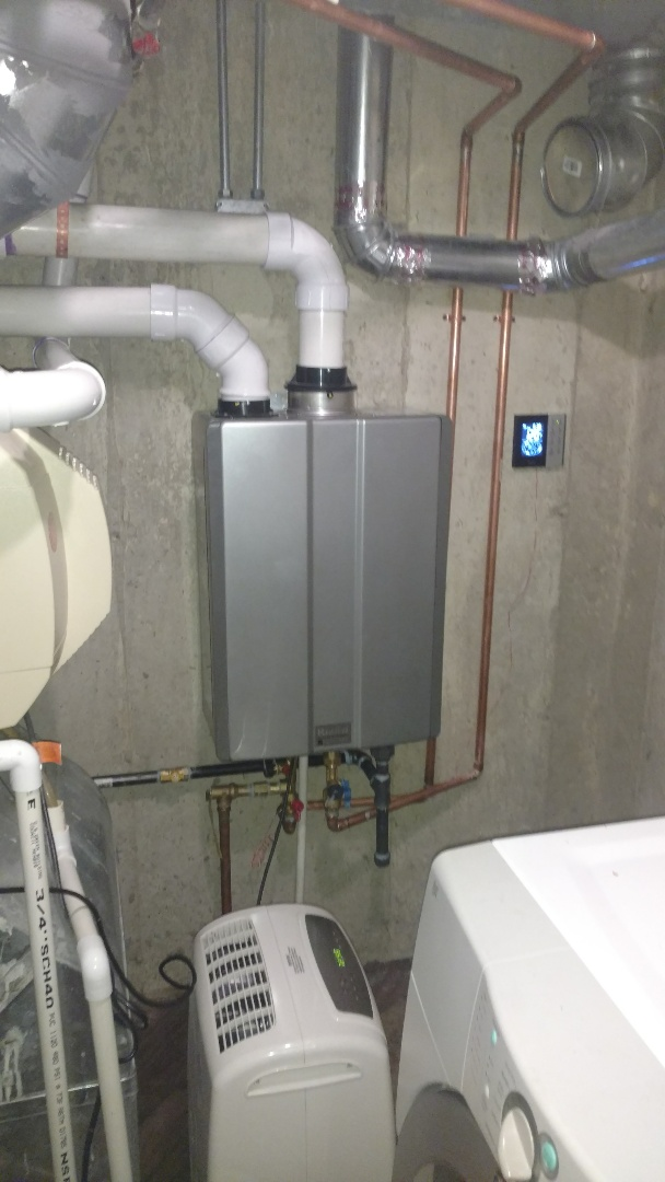 Elk Grove Village, IL - Replaced water heater with tankless water heater