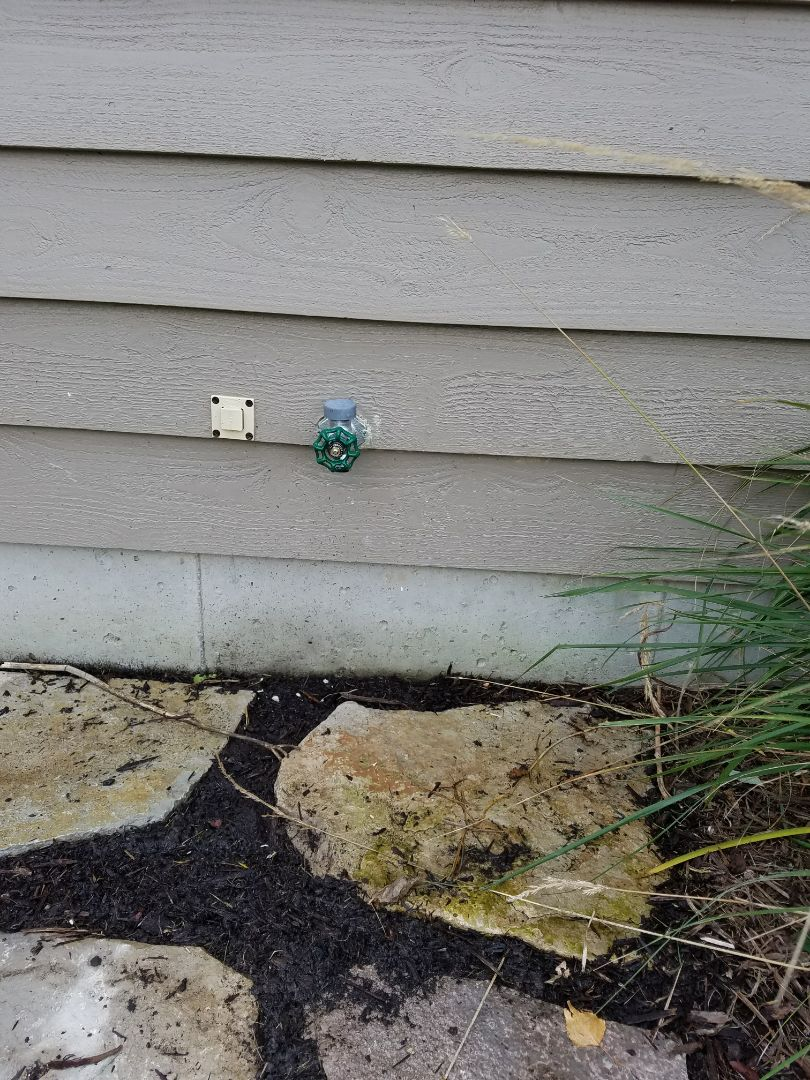 Replaced a leaking hose faucet causing the water bills to drastically increase.