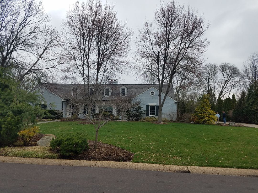 Webster Groves, MO - EBS will be performing tuck pointing masonry repairs for this homeowner.