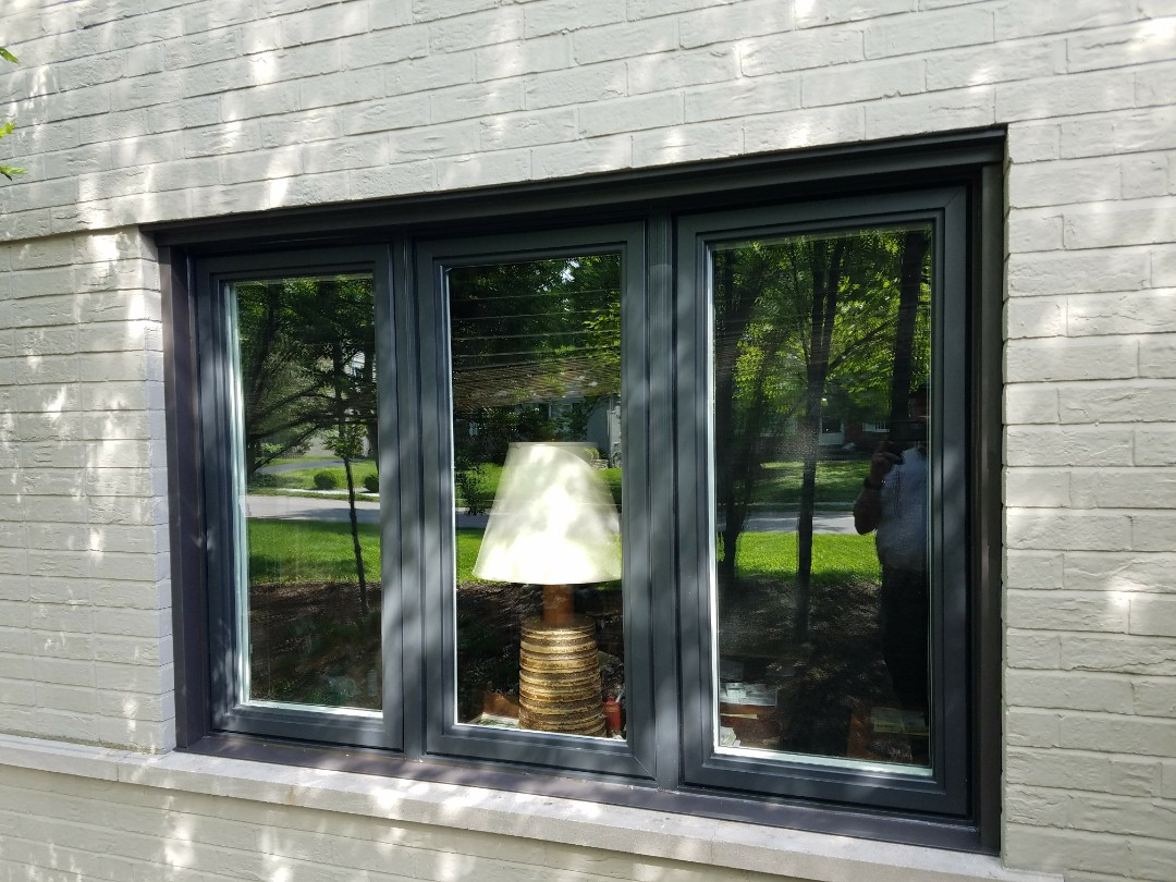 St. Louis, MO - First we installed a new TOO roof and now we have installed 2 Simonton Replacement windows.