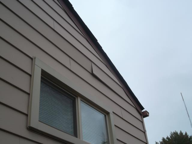 St. Louis, MO - Repairing some loose siding