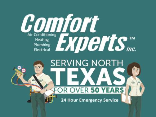Recent Review for Comfort Experts Inc.