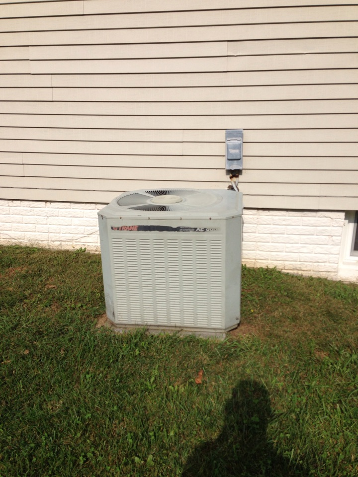 Crofton, MD - Trane furnace AC heating & air conditioning system replacement installation service call in Crofton Maryland.