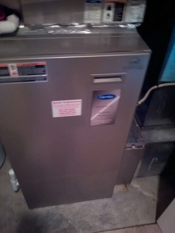 Crofton, MD - Gas furnace heating & air conditioning system maintenance tune-up & repair service call in Crofton Maryland.