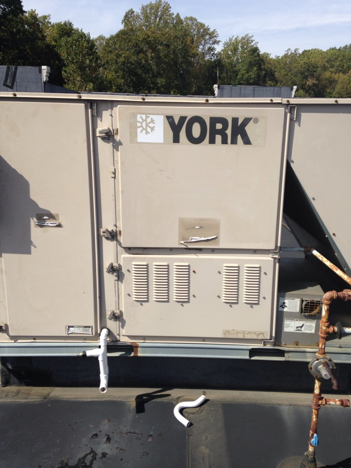 Gambrills, MD - York furnace AC heating & air conditioning system installation repair service call in Gambrills Maryland.