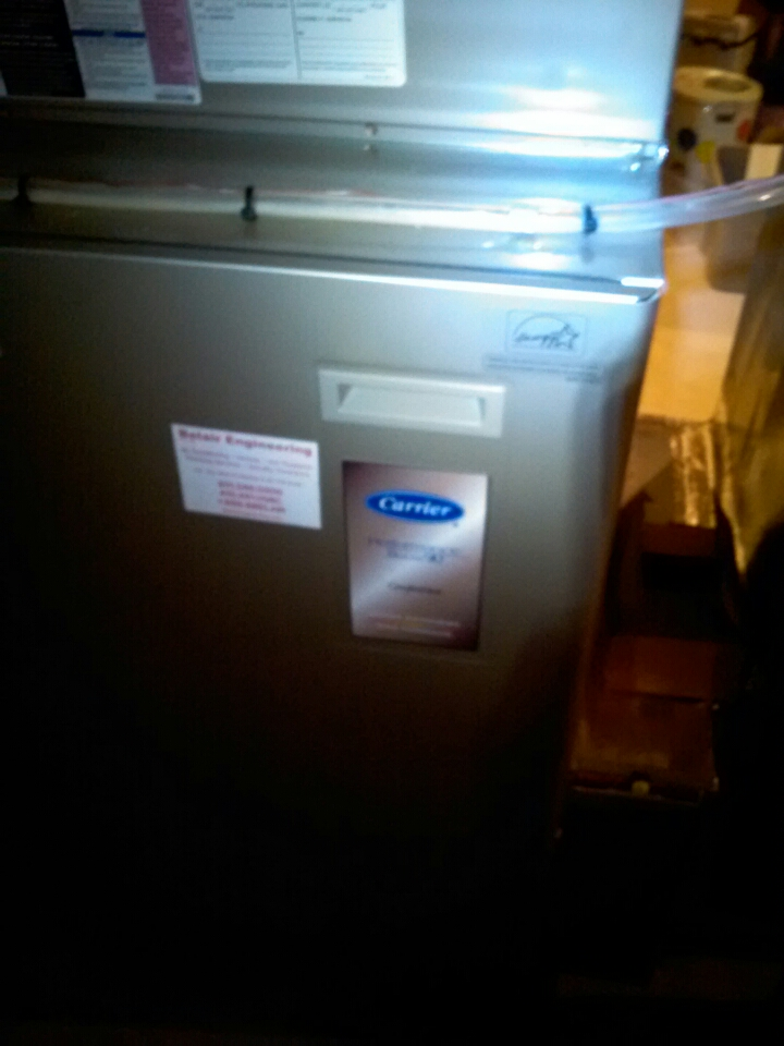 Crownsville, MD - Furnace heating system replacement installation service call in Crownsville Maryland.