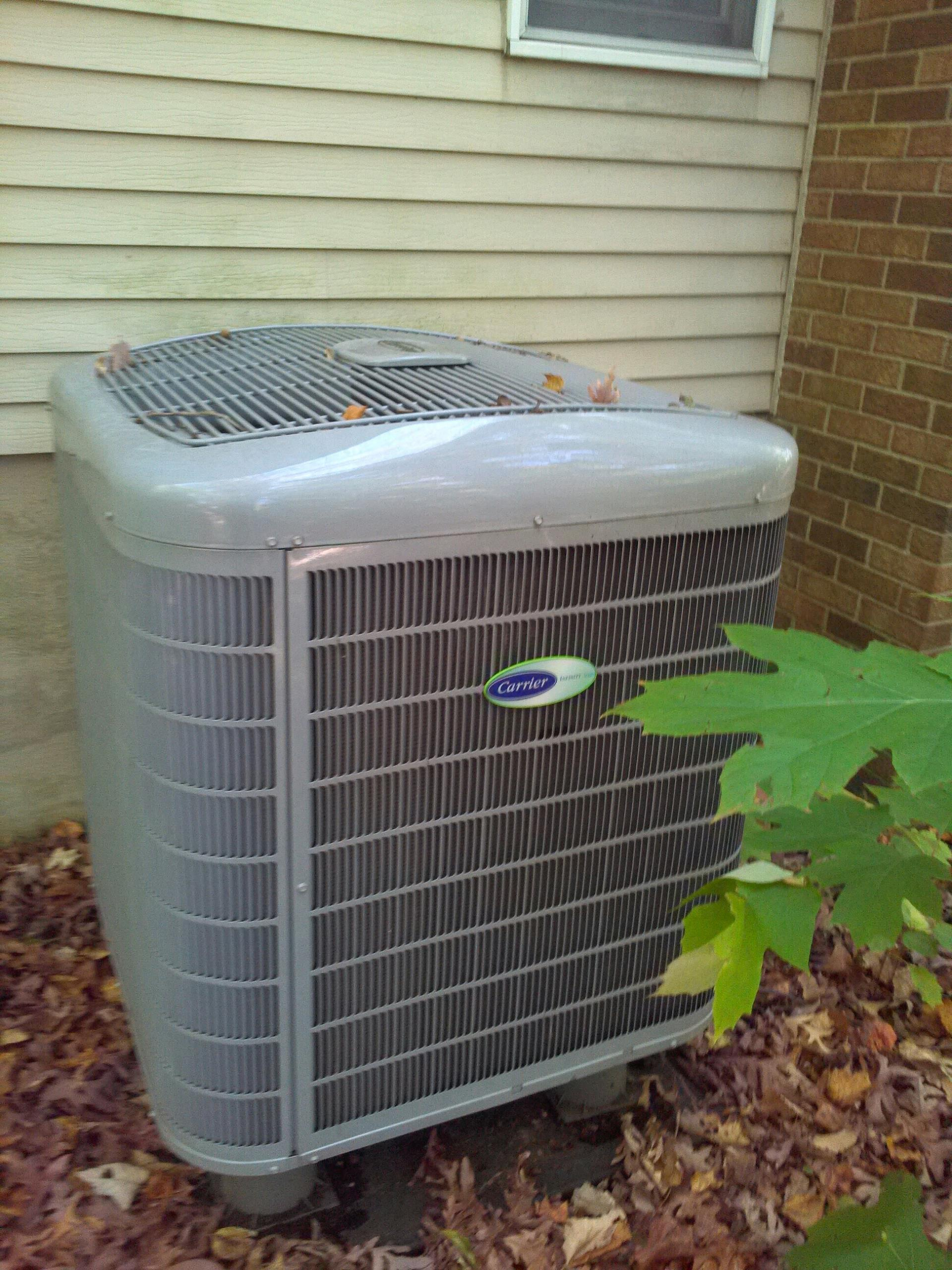 Crownsville, MD - Crownsville Maryland heat pump furnace heating system repair service call.