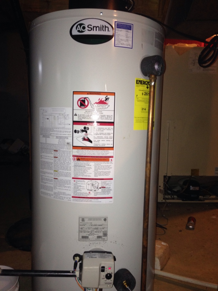 Crofton, MD - Crofton Maryland gas water heater replacement installation & plumbing repair service.