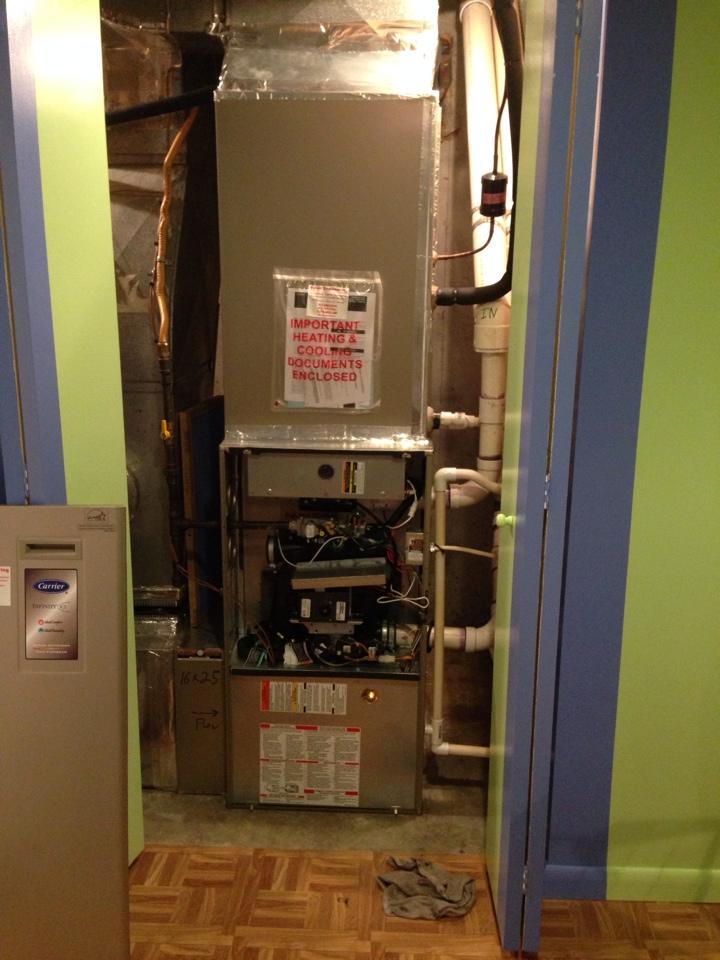 Crofton, MD - Crofton Maryland gas furnace heating system installation maintenance repair service call.