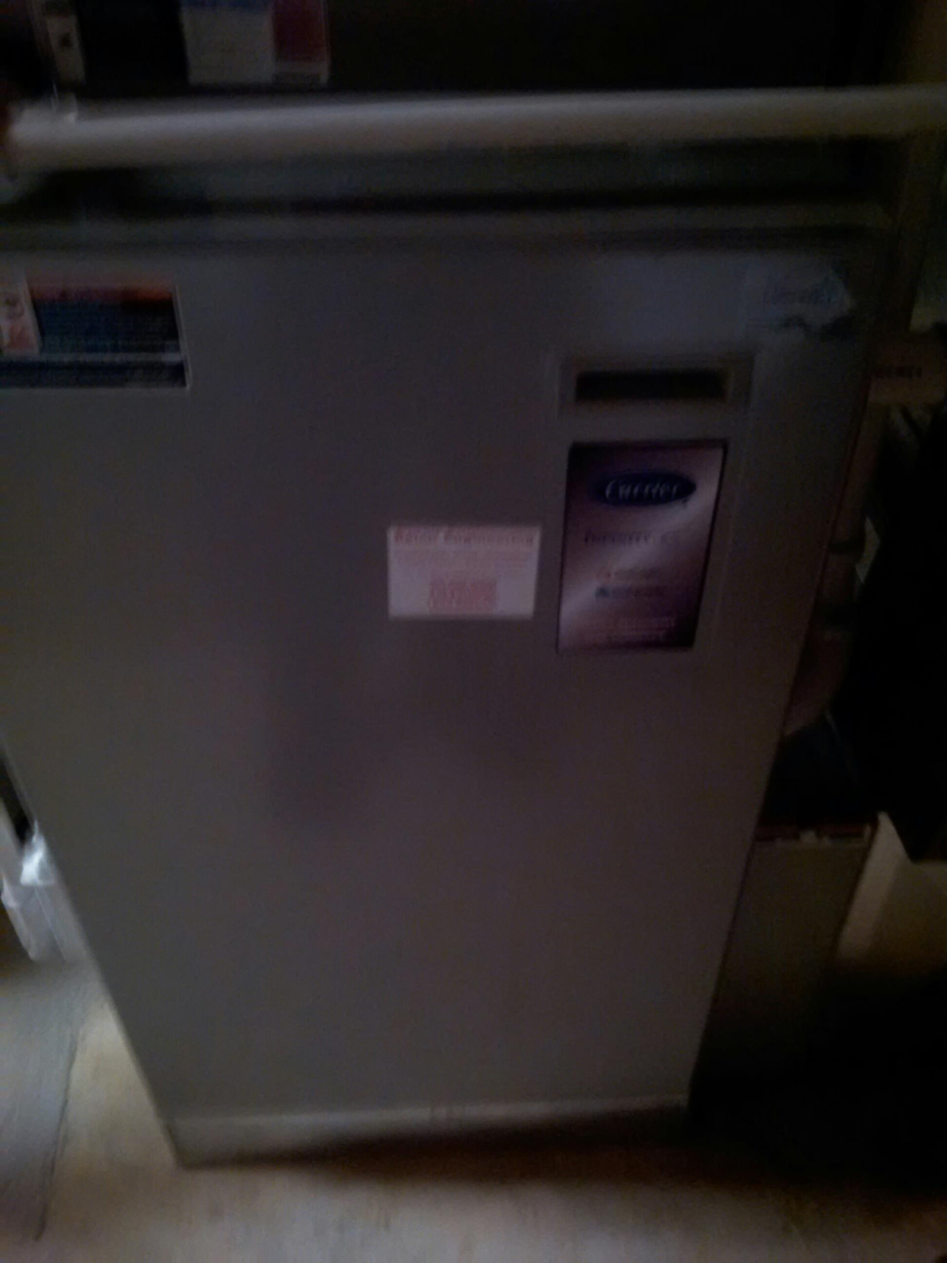 Crownsville, MD - Crownsville Maryland heat pump furnace heating system installation repair service call.