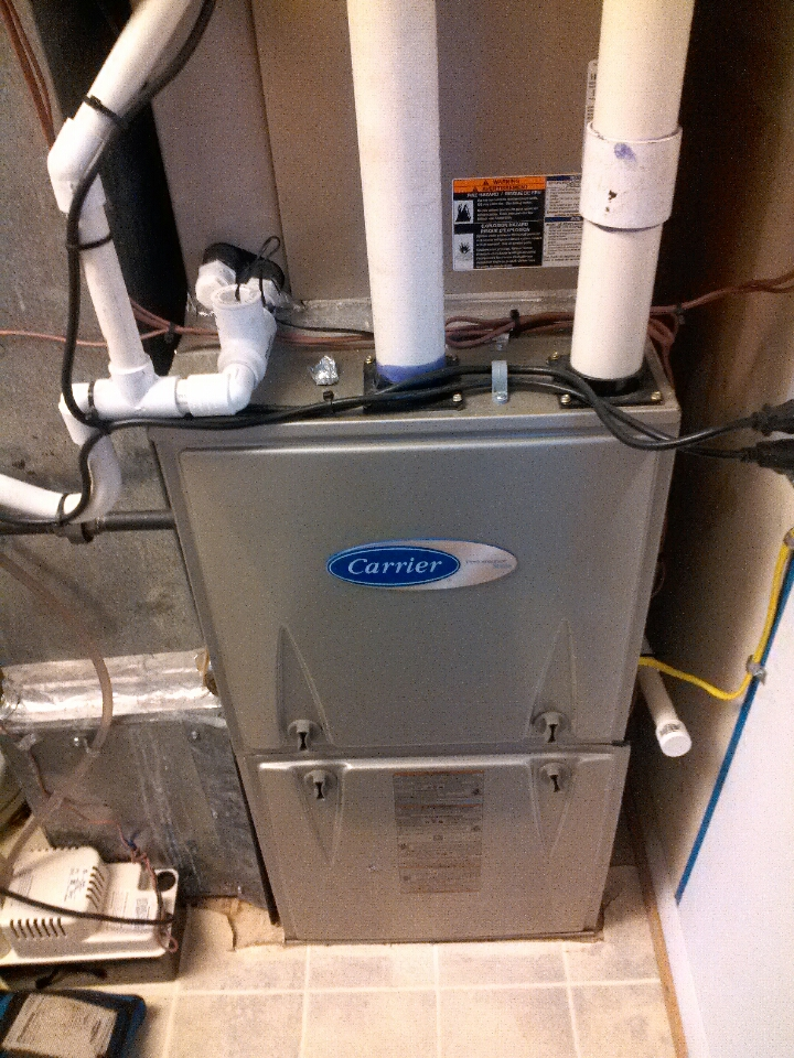 Gambrills, MD - Gambrills Maryland gas furnace heating system installation repair service call.