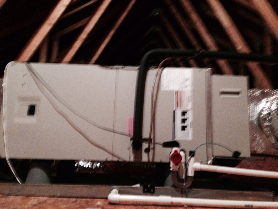 Gambrills, MD - Gambrills Maryland heat  pump heating & air conditioning system replacement installation.