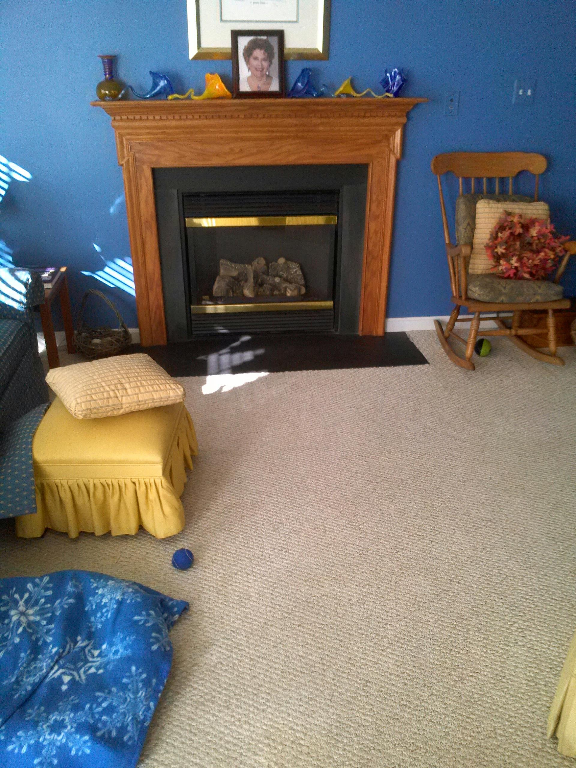 Gambrills, MD - Gambrills Maryland gas fire place insert & gas log set installation repair service call.