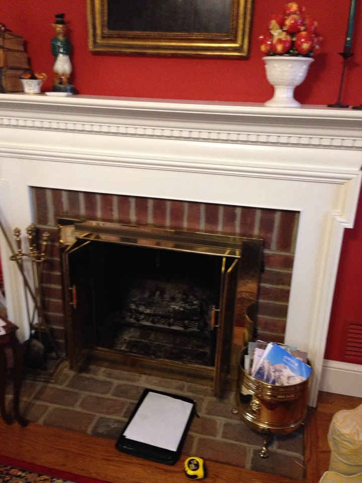 Friendship, MD - Friendship Maryland gas fireplace insert & gas logs installation.