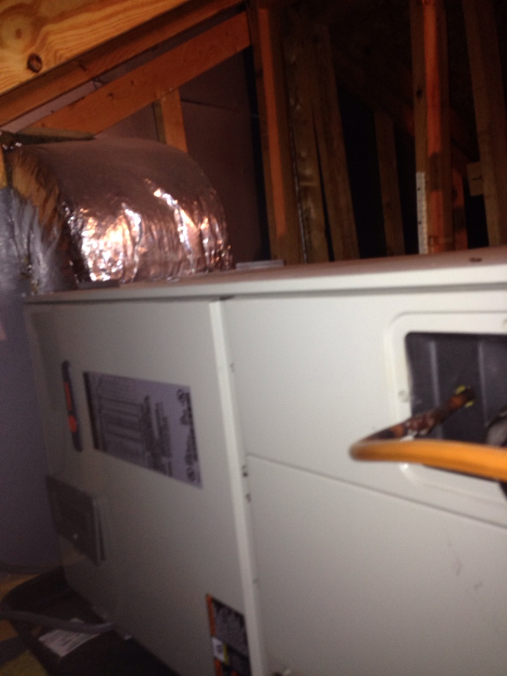 Crownsville, MD - Crownsville Maryland heat pump heating system replacement installation service call.