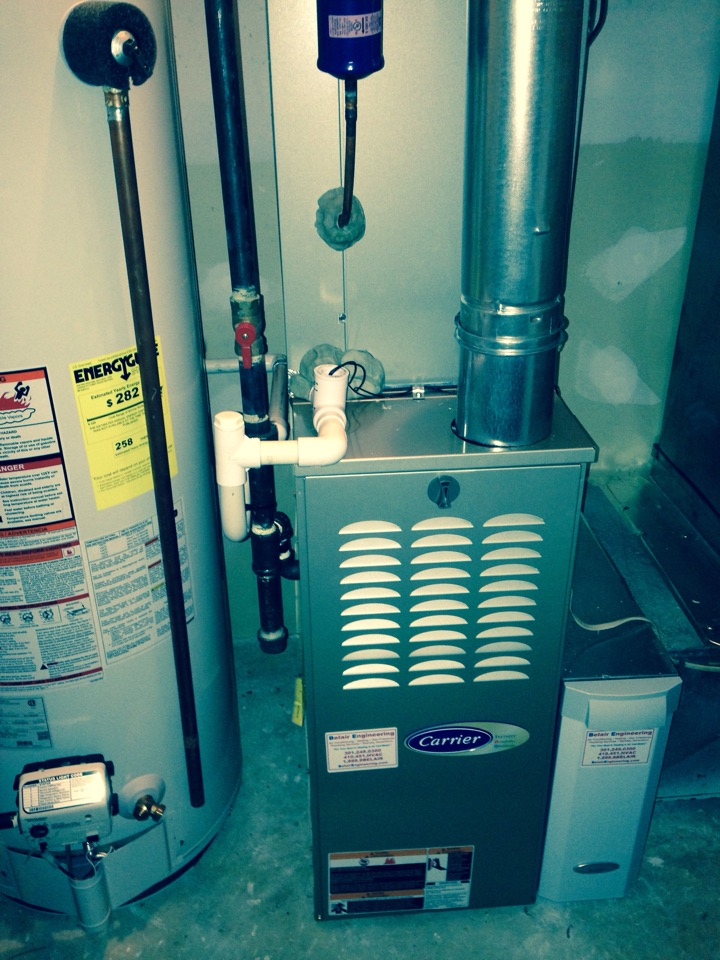 Crofton, MD - Crofton Maryland gas furnace heating system replacement installation service call.