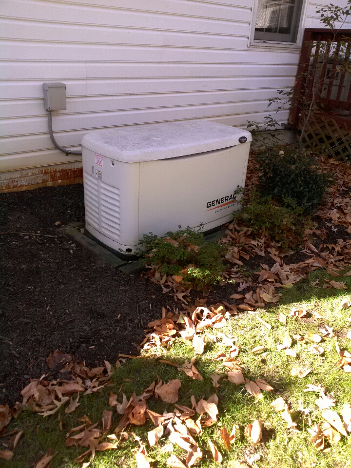 Gambrills, MD - Gambrills Maryland Generac standby generator installation repair service call.