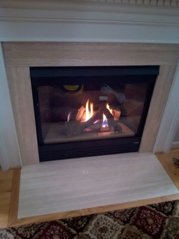 Gambrills, MD - Gambrills Maryland heat-n-glo  gas fireplace insert installation repair service call.