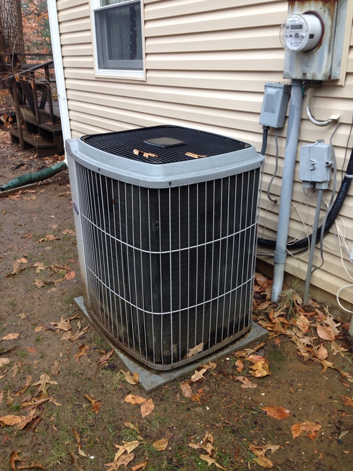 Crofton, MD - Crofton Maryland gas furnace AC heating & air conditioning system replacement installation service call.