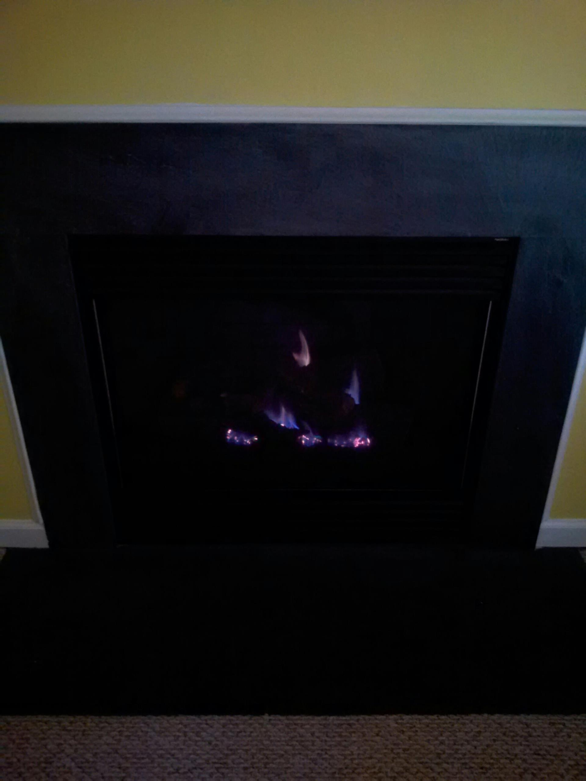 Crofton, MD - Crofton Maryland gas fireplace insert & gas logs installation repair service call.