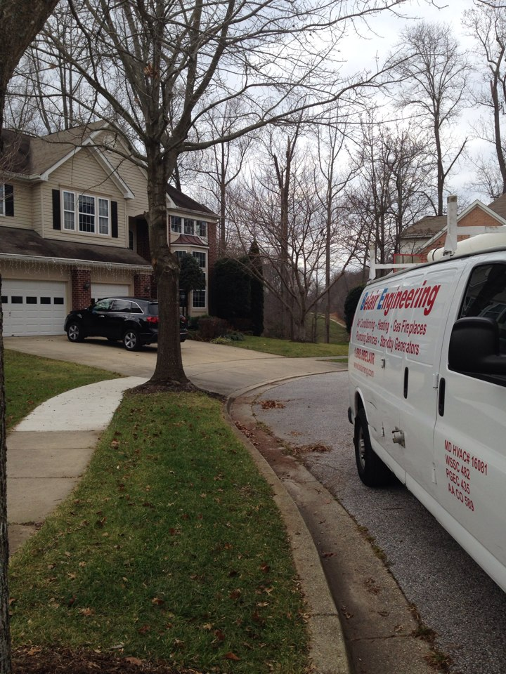 Crofton, MD - Crofton Maryland Carrier gas furnace heating system & whole house humidifier replacement installation service call.