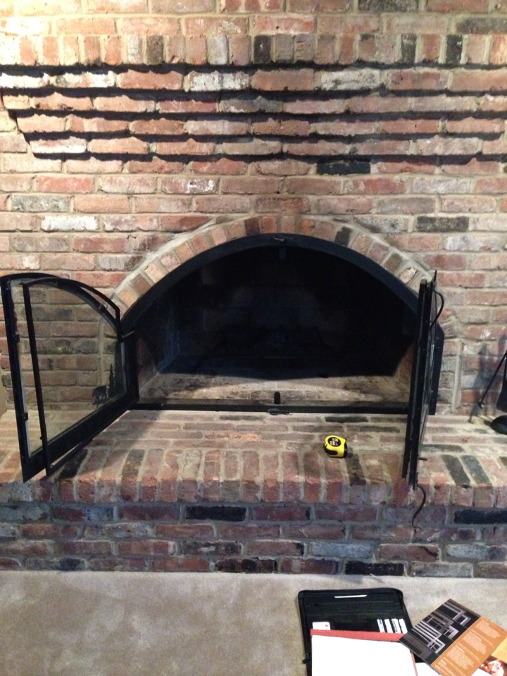 Crownsville, MD - Crownsville Maryland gas fireplace insert & gas logs replacement installation service call.