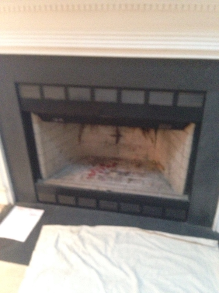 Gambrills, MD - Gas fireplace insert & gas logs installation repair service call in Gambrills Maryland 21054.