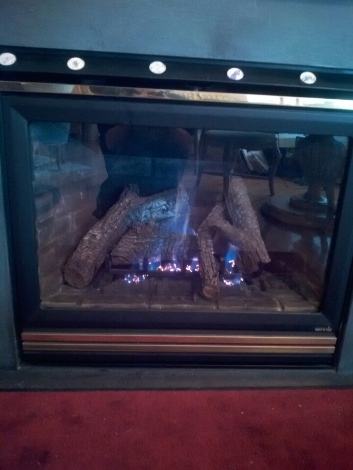 Crofton, MD - Heat N Glo gas fireplace insert & gas logs installation repair service call in Crofton Maryland 21114