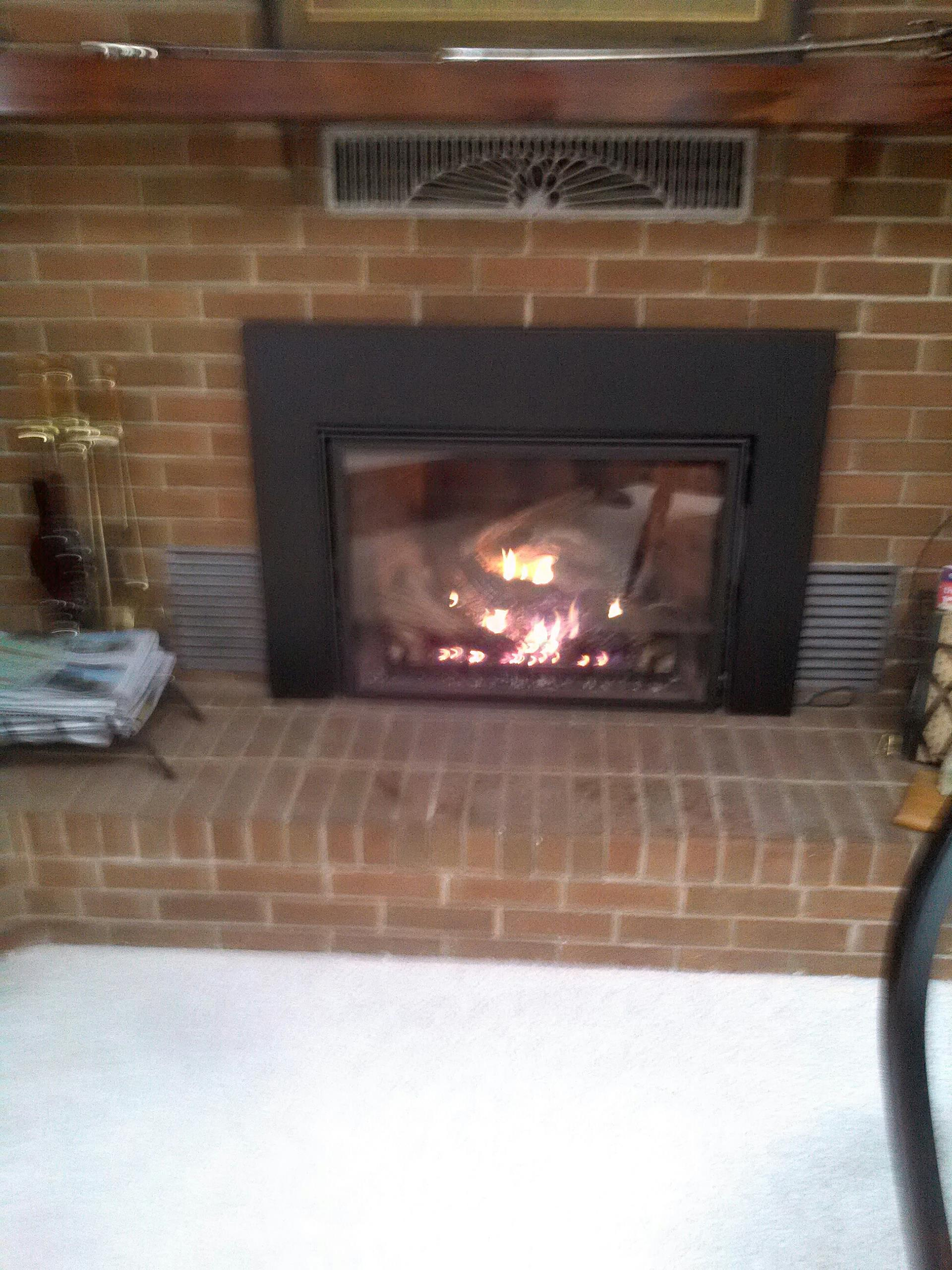 Gambrills, MD - Mendota gas fire place insert & gas log set installation repair service in Gambrills Maryland 21054