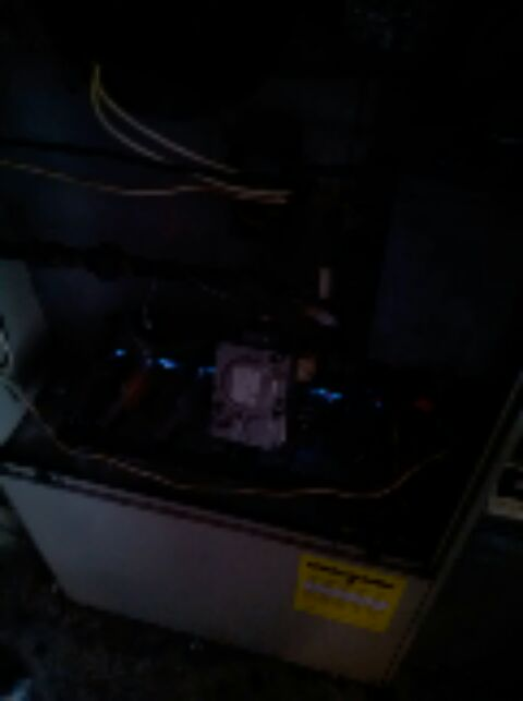 Crofton, MD - Goodman gas furnace HVAC heating & AC system replacement installation service call in Crofton Maryland