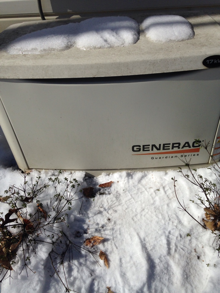 Gambrills, MD - Generac 17 kw automatic standby backup home generator battery installation repair service call in Gambrills Maryland 21054.
