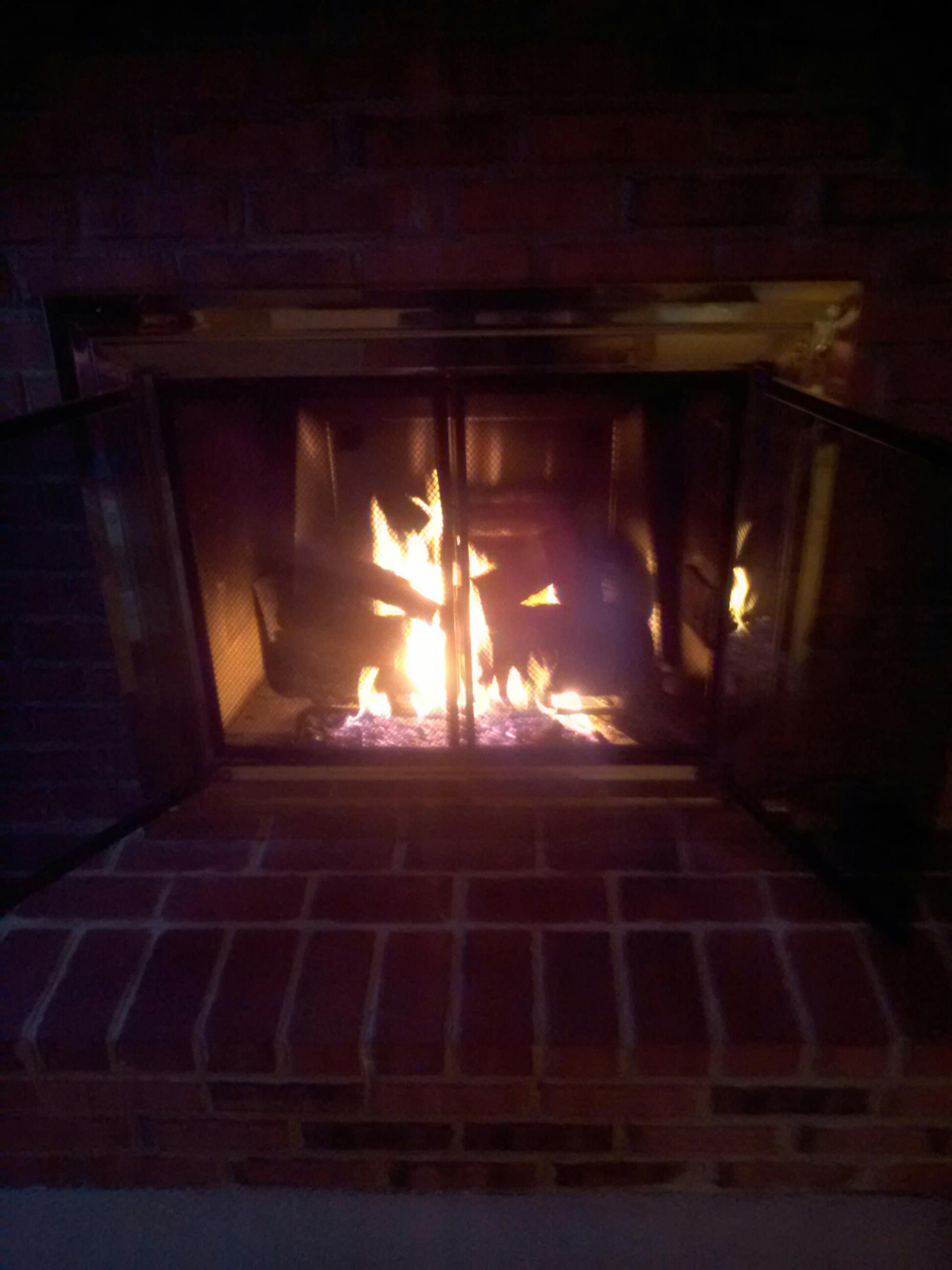 Crownsville, MD - LP propane Peterson gas fireplace insert & gas logs installation repair service in Crownsville Maryland 21032