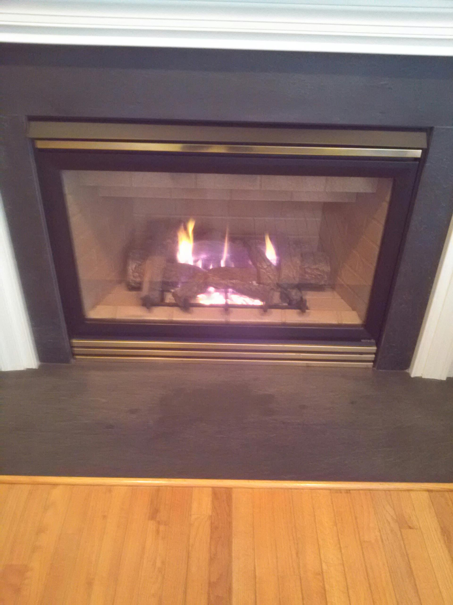 Gambrills, MD - Heat N Glo gas fireplace insert & gas logs installation repair service in Gambrills Maryland 21054