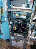 Gambrills, MD - Bryant gas furnace heating & AC system, Aprilaire whole house humidifier & Trane electronic air cleaner replacement installation repair service call in Gambrills Maryland 21054