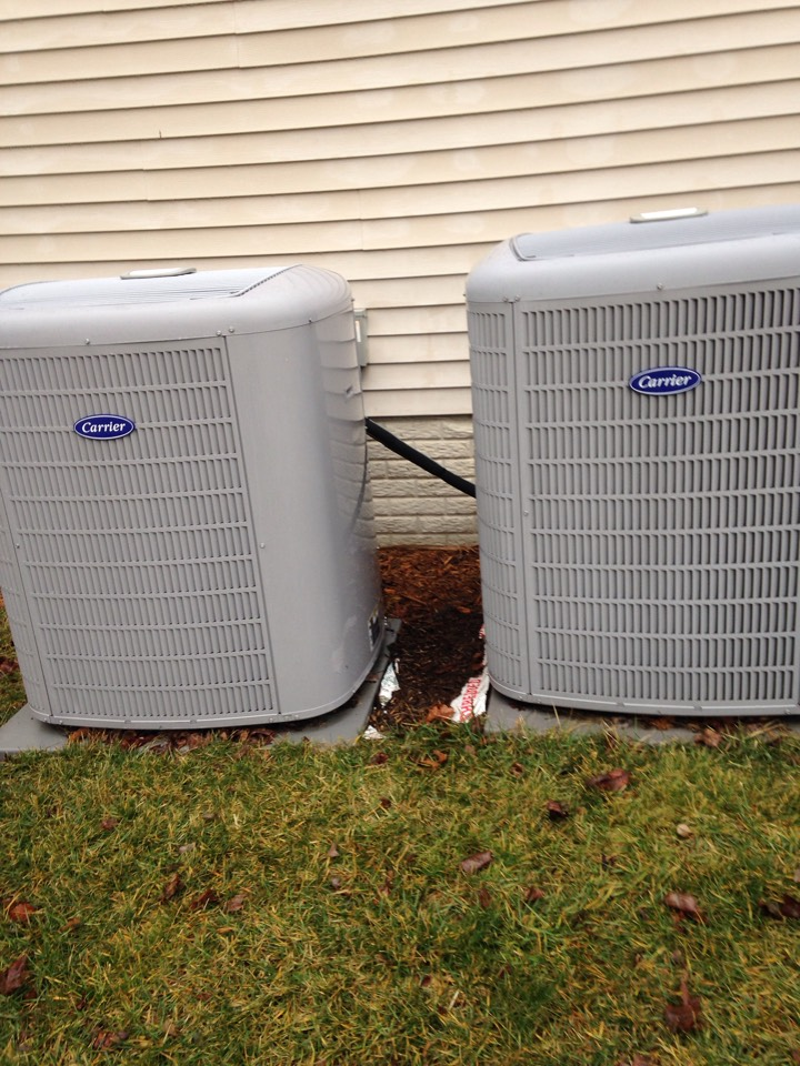 Gambrills, MD - Carrier ac air conditioning & heating system maintenance check up & A/C repair service call in Gambrills Maryland 21054
