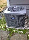 Gambrills, MD - Carrier ac air conditioning & cooling system installation repair service call in Gambrills Maryland 21054