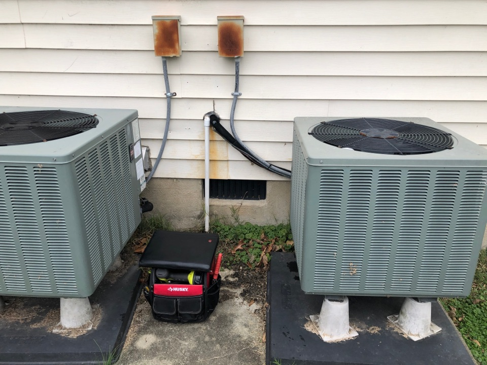 Deale, MD - Ruud Heat pump repair service with Flood protection