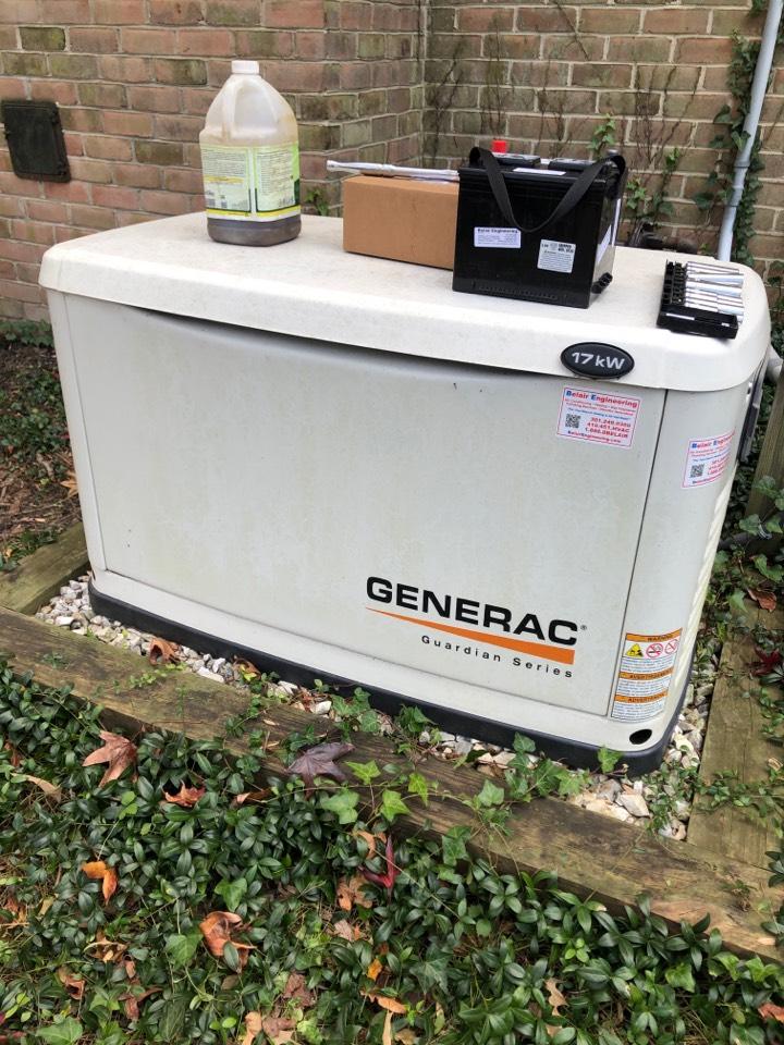 Severna Park, MD - Generator tune up
