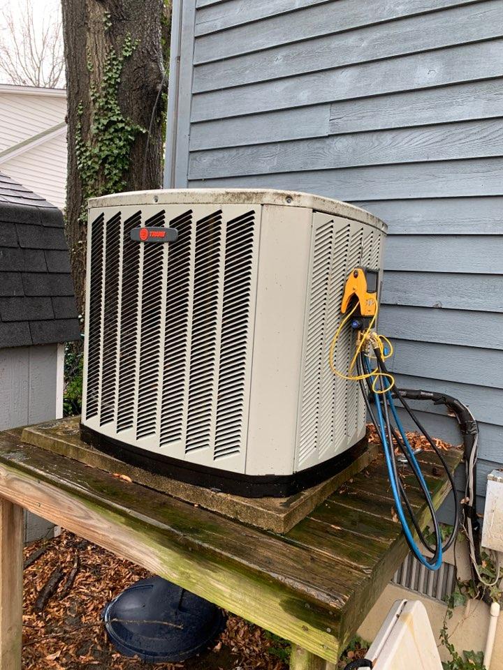 Edgewater, MD - Trane Heat Pump Service Repair