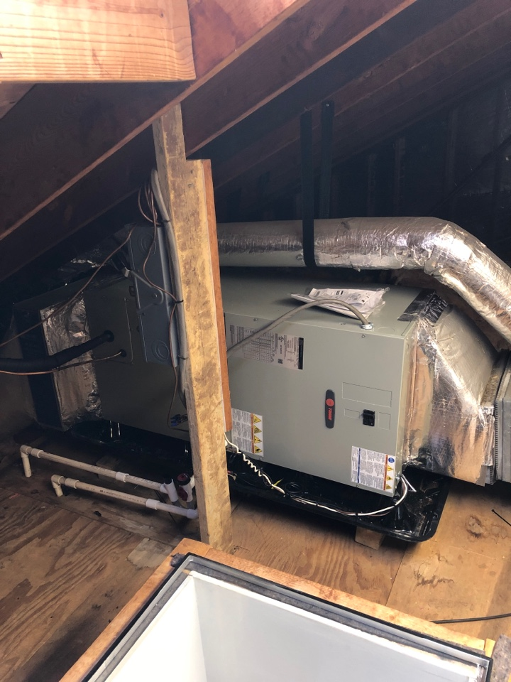 Davidsonville, MD - Air handler repairs