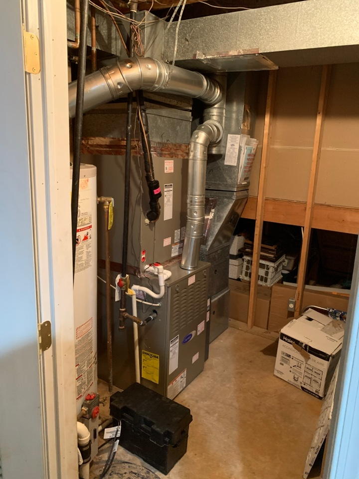 Lanham, MD - Furnace inspection