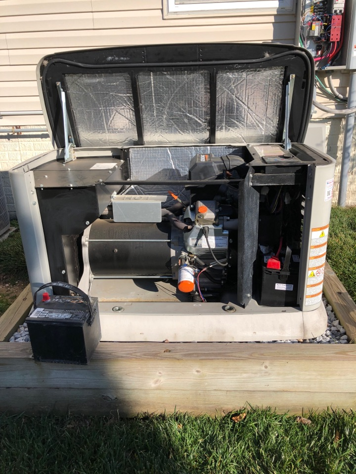 Clinton, MD - Generator repairs replacement of the battery