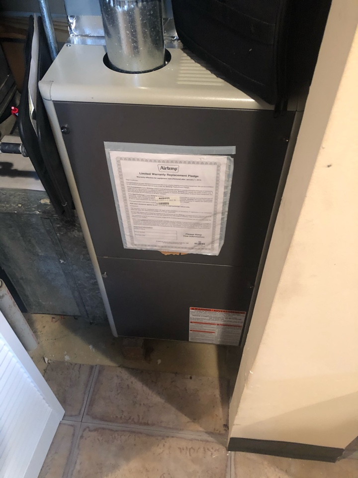 Mitchellville, MD - Heating service