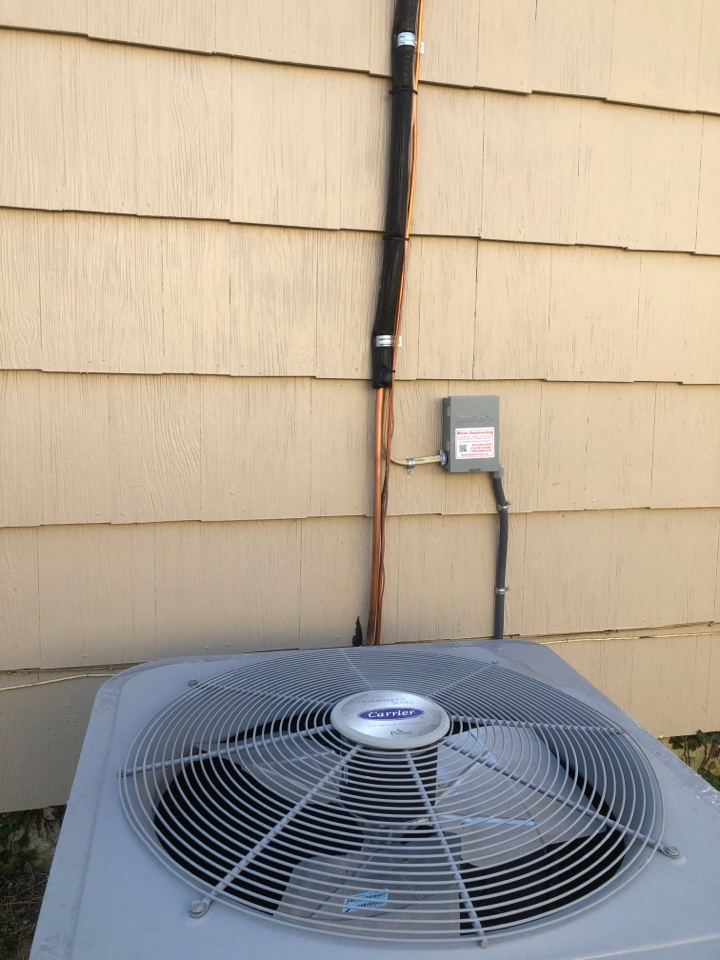 Crofton, MD - Install UV wrap online sit outside ecobee thermostat