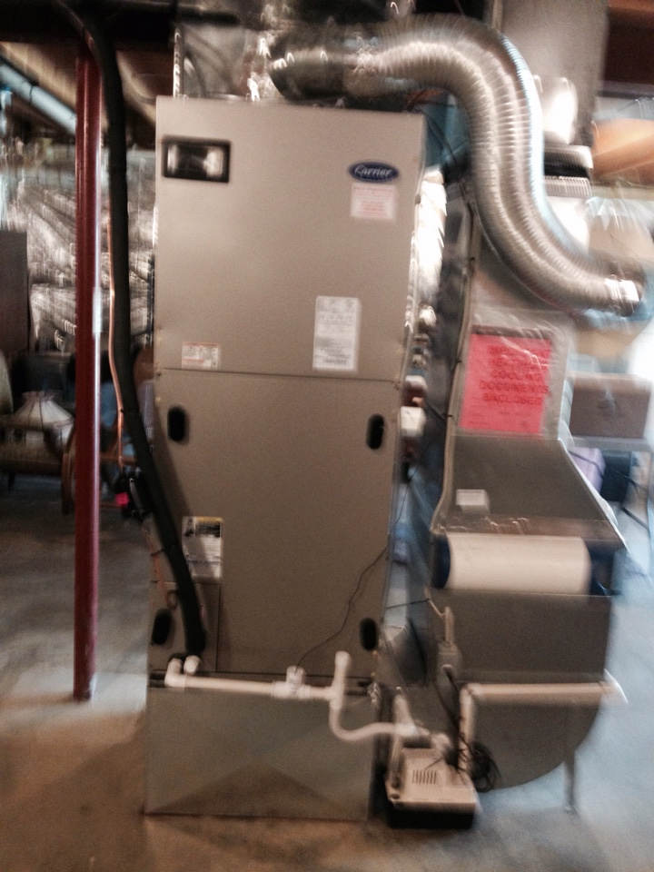 Gambrills, MD - Heat pump AC air conditioner & heating system replacement installation in Gambrills Maryland 21054
