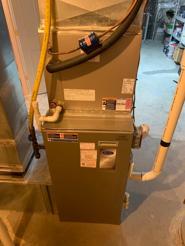 Chesapeake Beach, MD - Gas furnace repair
